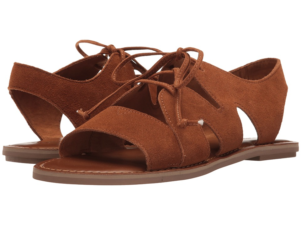 TOMS - Calipso Sandal (Cinnamon Suede) Women's Lace up casual Shoes
