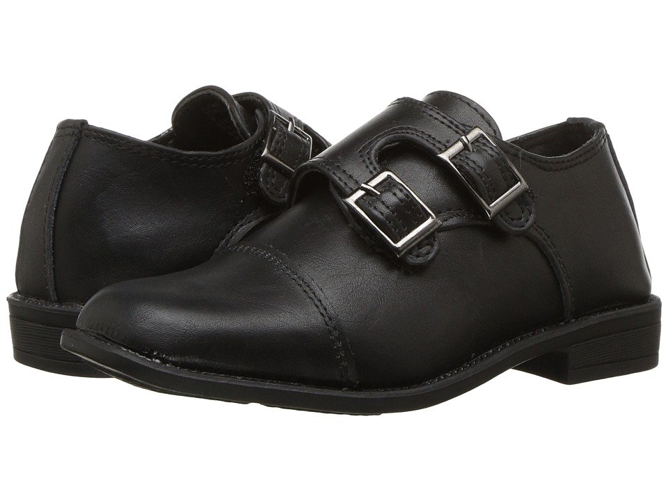 Steve Madden Kids Tchaaz (Toddler/Little Kid/Big Kid) (Black) Boys Shoes