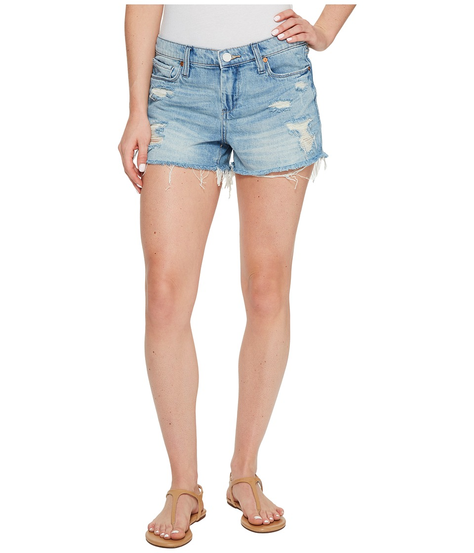 Blank NYC - High Rise Denim Shorts in Rip Off (Rip Off) Women's Shorts
