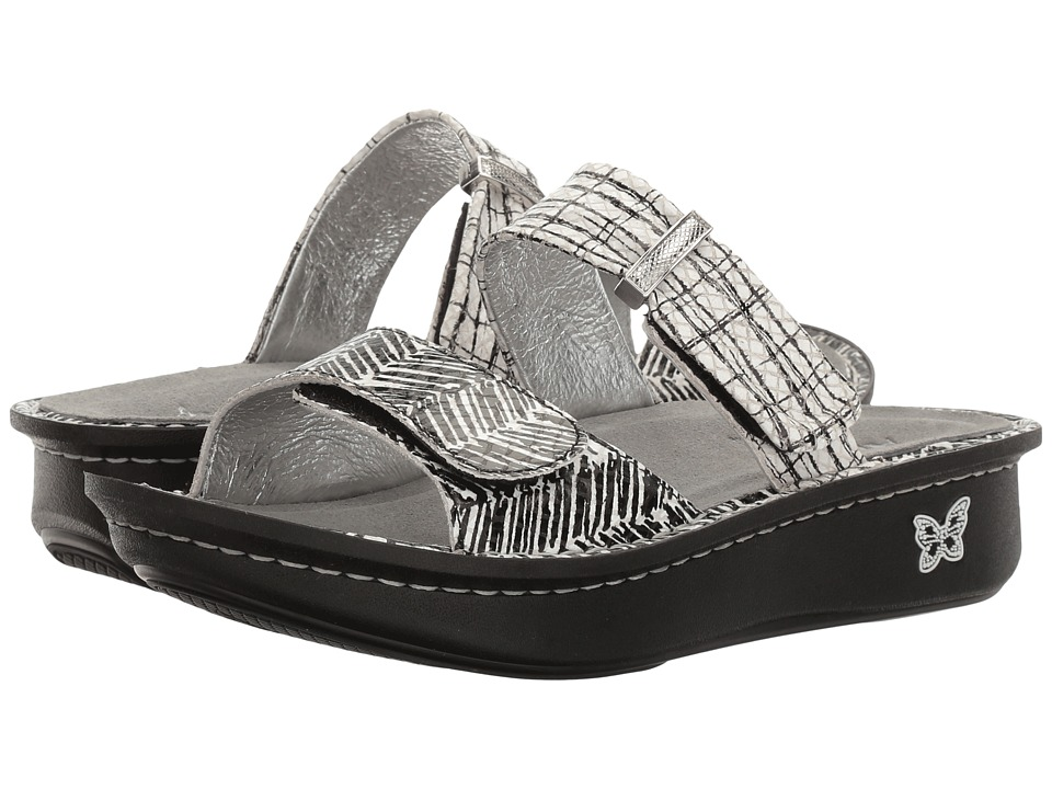 Alegria - Karmen (Unity Black/White) Women's Sandals