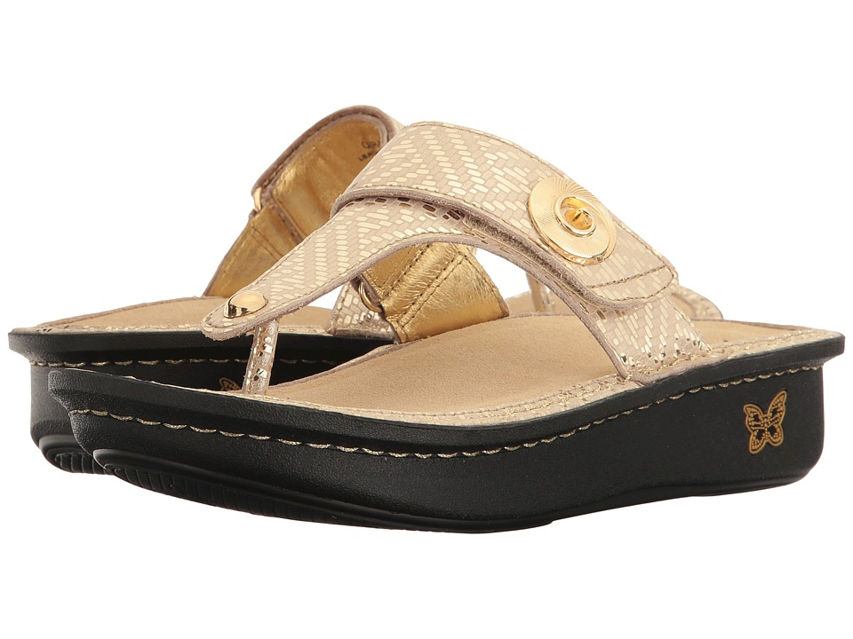 Alegria - Carina (Gold Dazzler) Women's Sandals