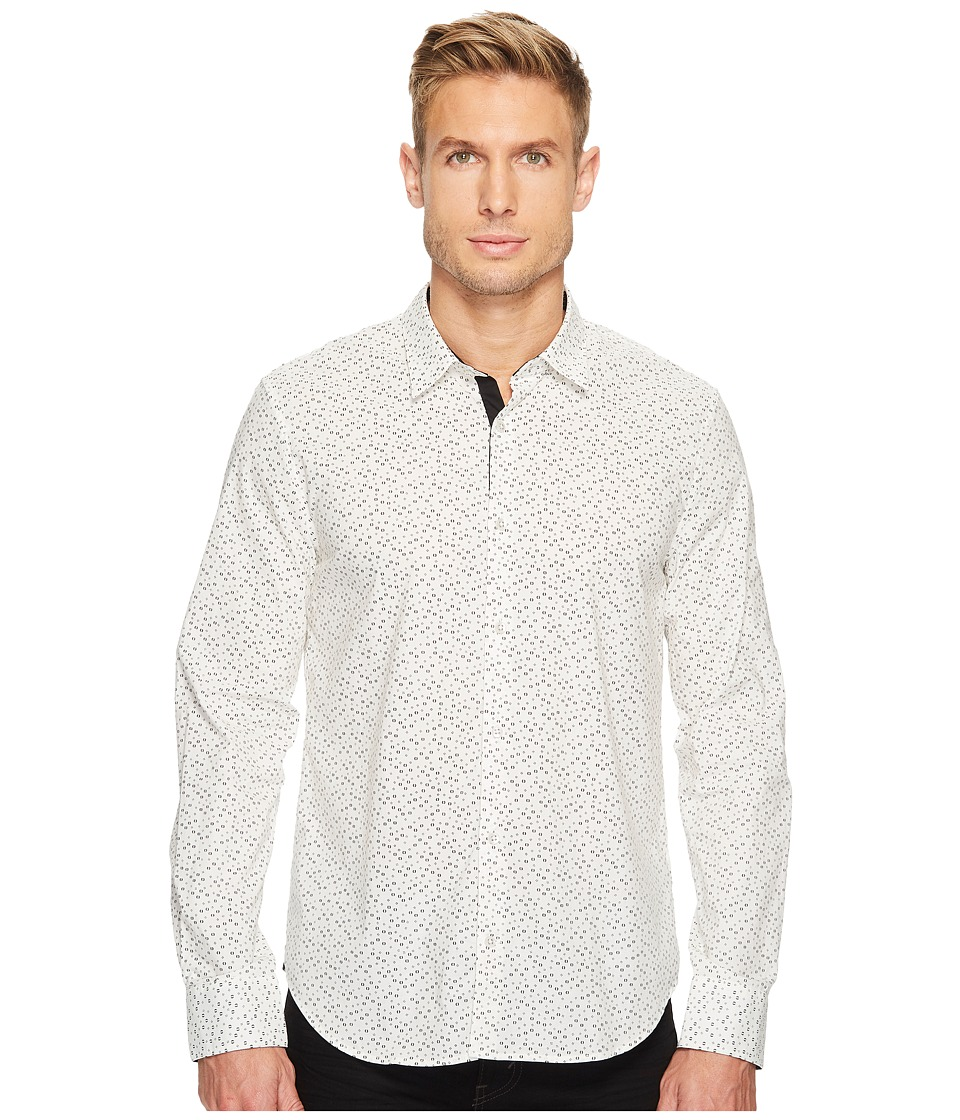 John Varvatos Star U.S.A. - Slim Fit Mayfield Sport Shirt (Ivory) Men's Clothing