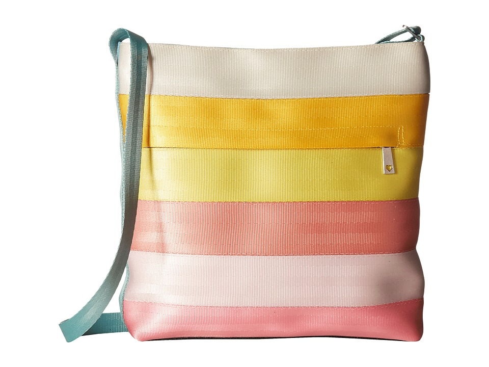 Harveys Seatbelt Bag - Streamline Crossbody (Splash) Cross Body Handbags