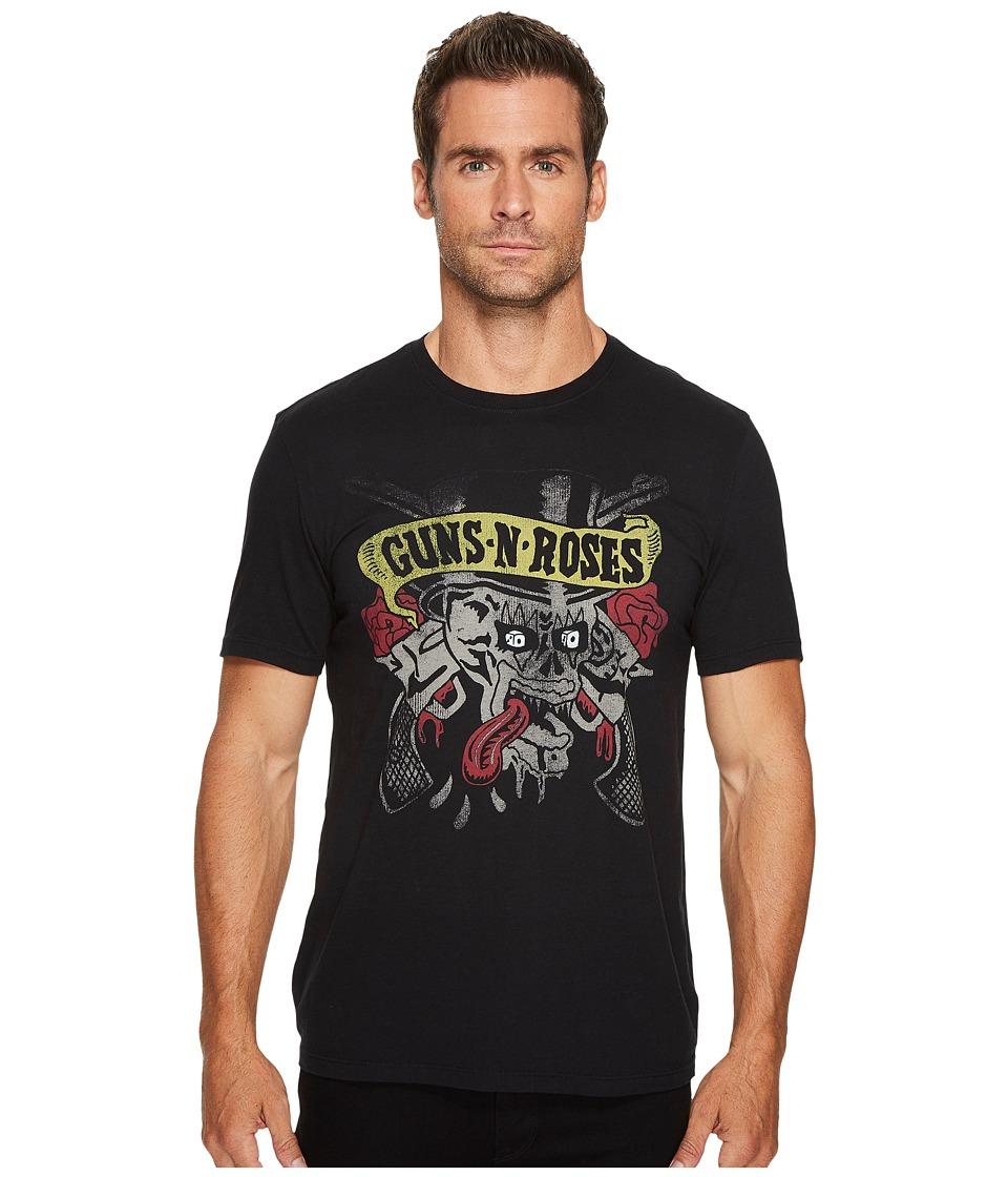 John Varvatos Star U.S.A. Guns N Roses Graphic Tee (Black) Men's T Shirt