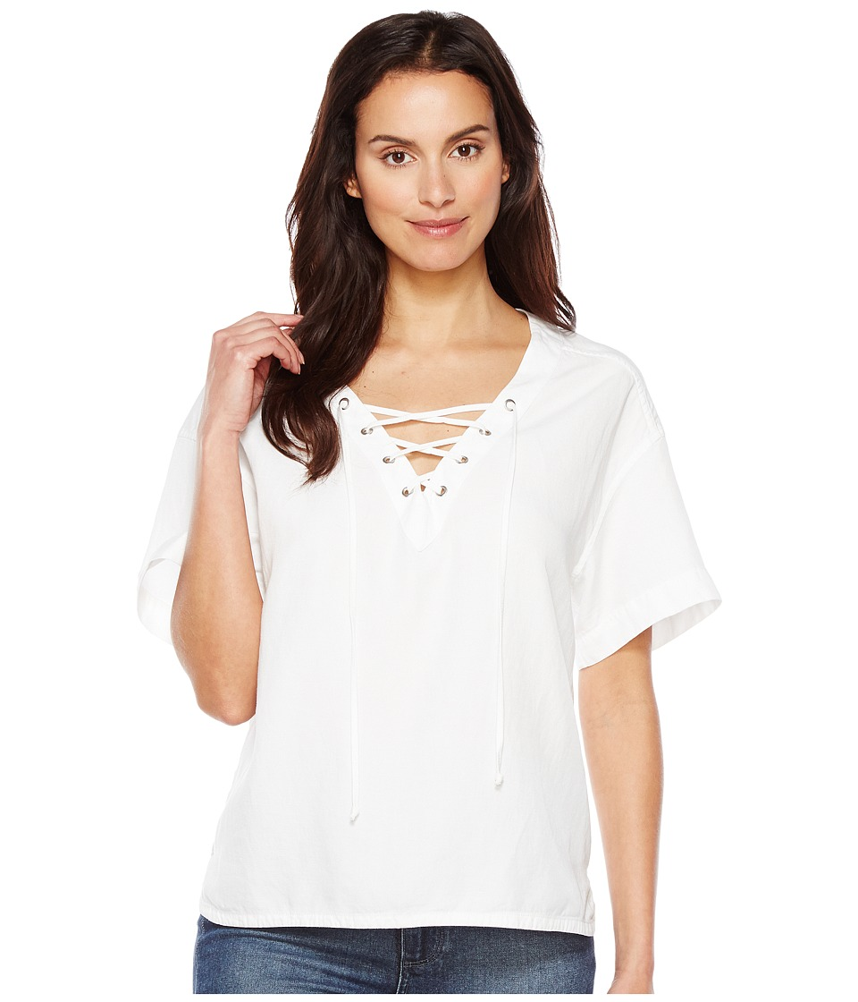 AG Adriano Goldschmied - Kelly Top (True White) Women's Clothing
