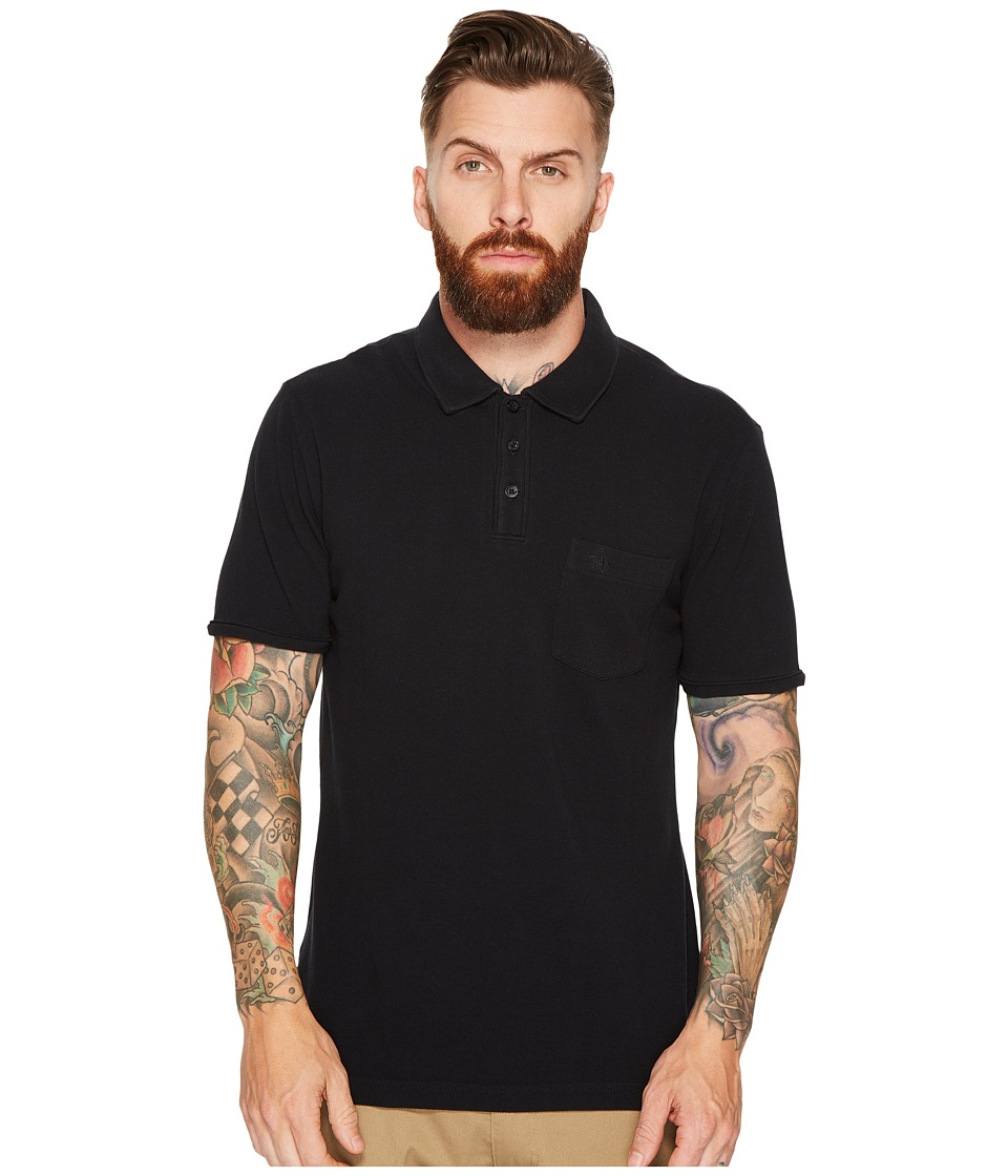 Original Penguin - Championship Earl Polo (Dark Sapphire) Men's Short Sleeve Pullover