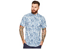 Print Shirt Sherman Short Sleeve Ben Palm Tree RvaqPxX