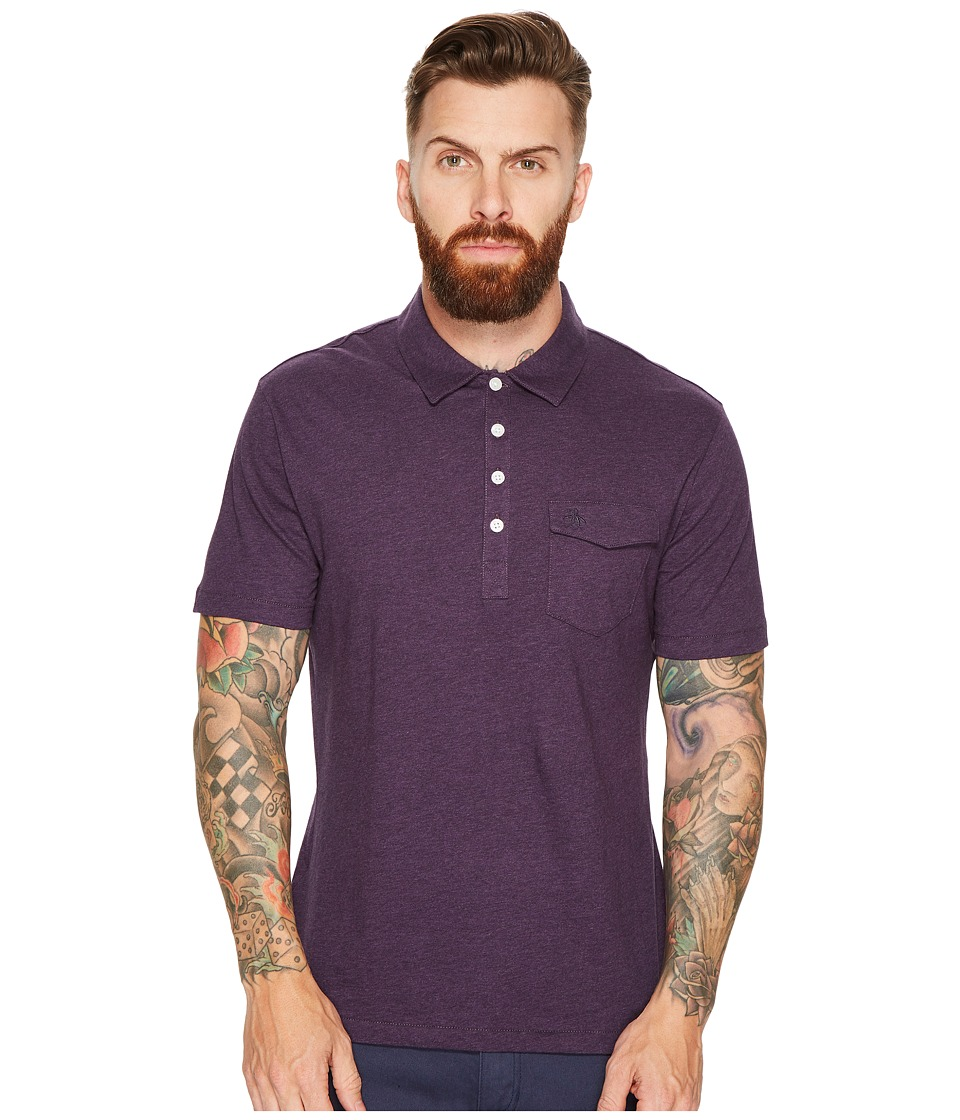 Original Penguin - Jack 2.0 Polo (Mysterioso) Men's Short Sleeve Pullover