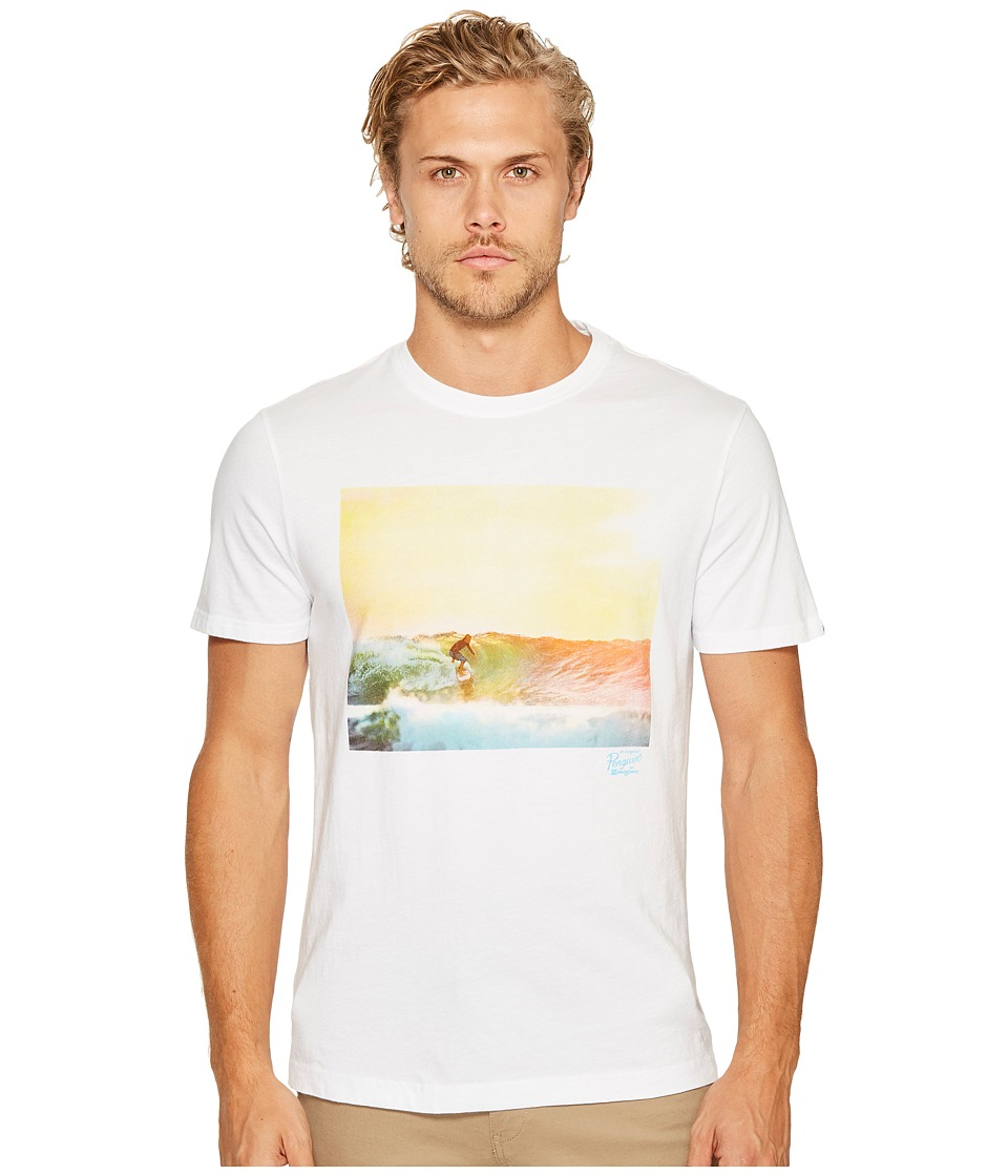 Original Penguin - Photographic Surf Tee (Bright White) Men's T Shirt
