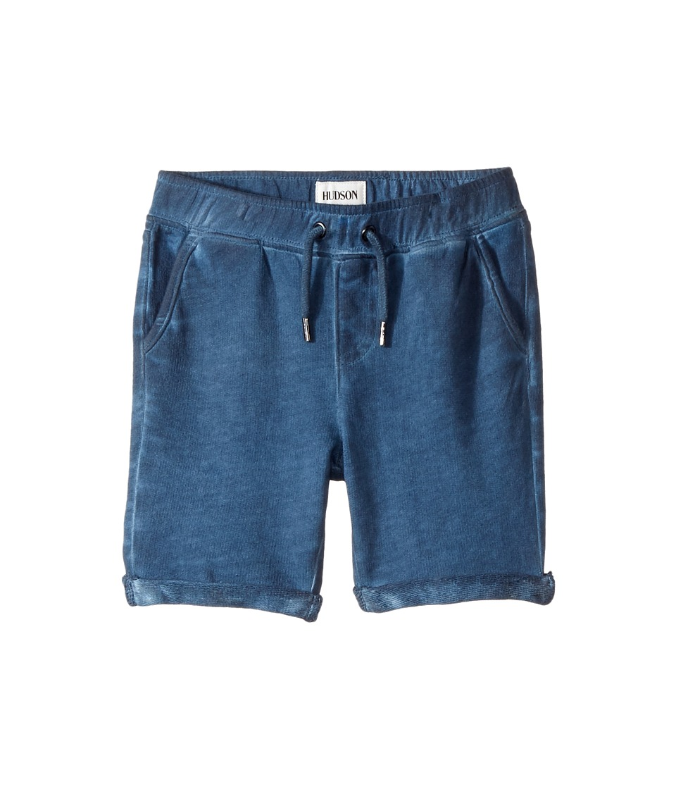 Hudson Kids - Pigment Dye Pull-On Shorts in Malibu Blue (Infant) (Malibu Blue) Boy's Shorts