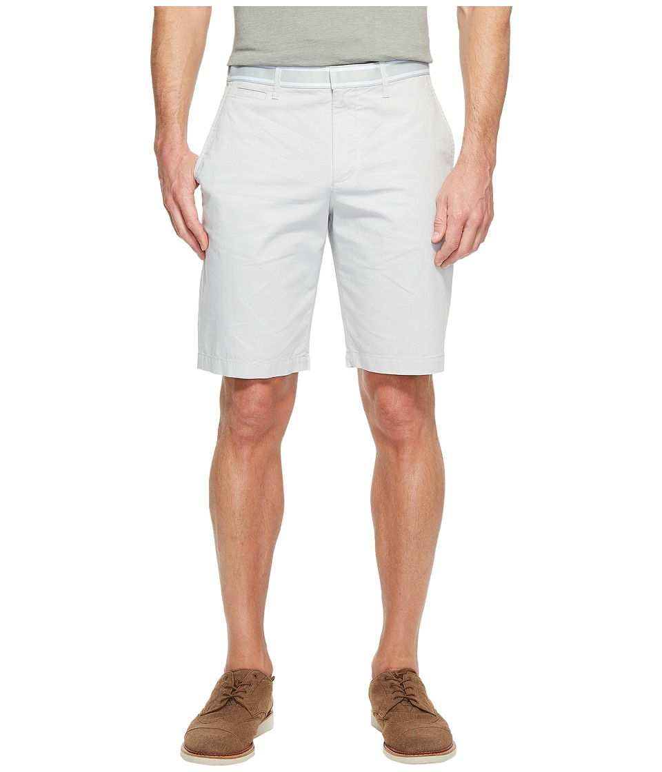 Original Penguin - Cotton Oxford Shorts (Mirage Gray) Men's Shorts