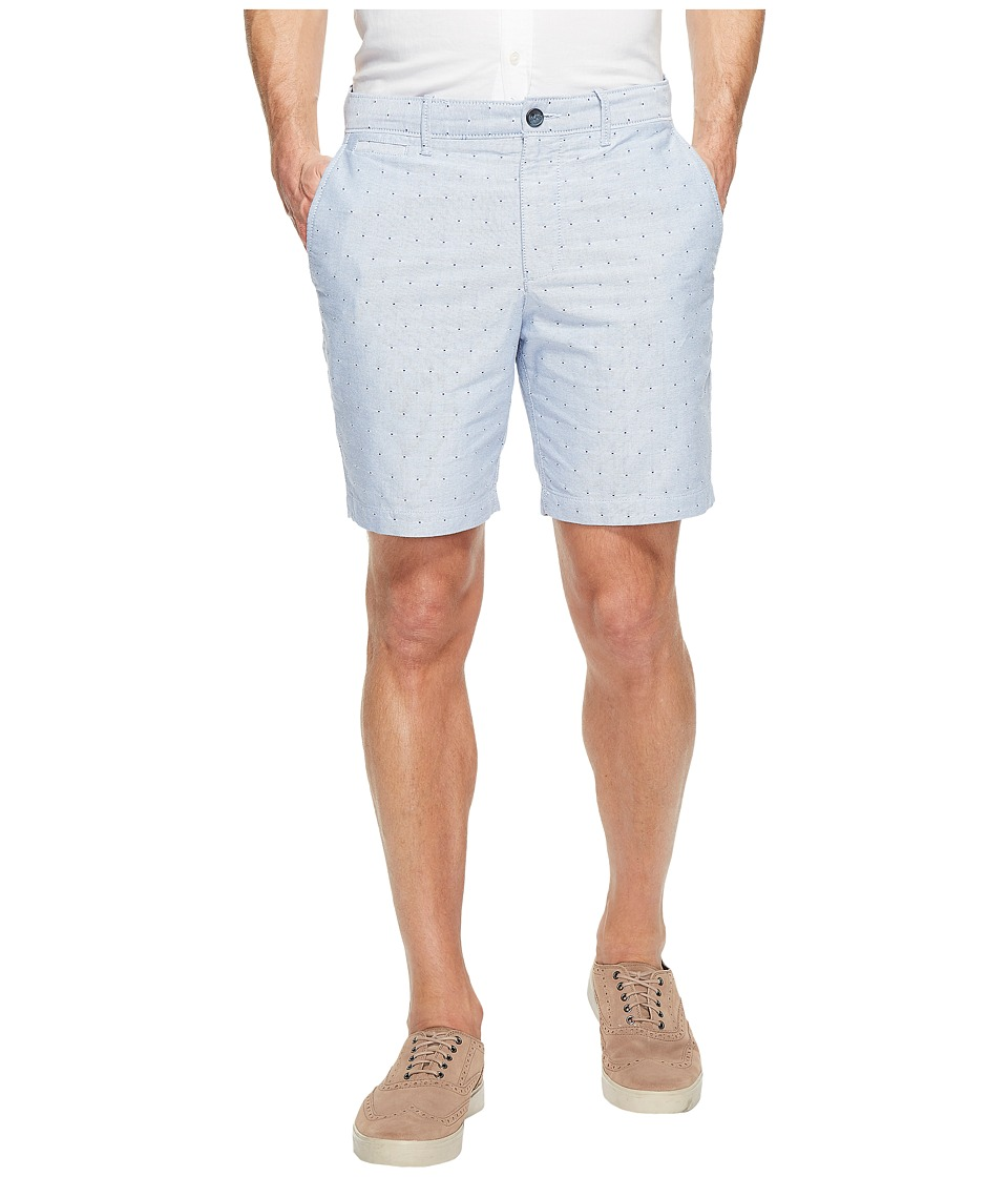 Original Penguin - Dobby Dot Oxford Shorts (Dark Sapphire) Men's Shorts