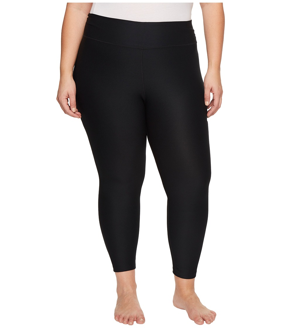 Nike Power Training Crop (Size 1X-3X) (Black/White) Women