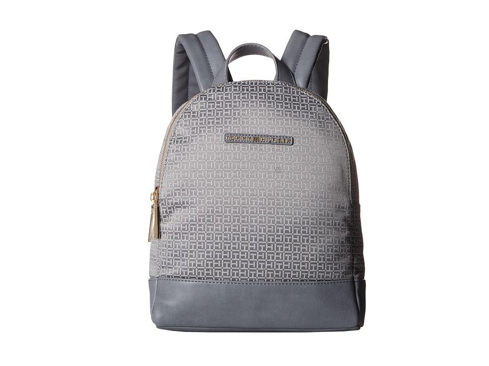 Tommy Hilfiger - Pauletta Mini Backpack (Gray/Tonal) Backpack Bags