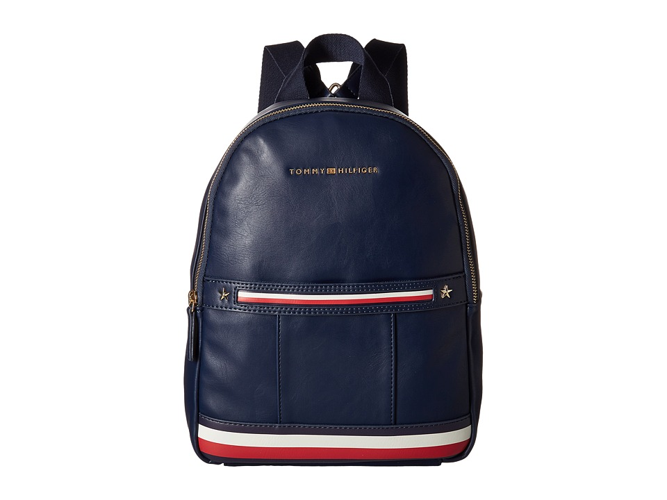 Tommy Hilfiger - Larissa Dome Backpack (Tommy Navy) Backpack Bags