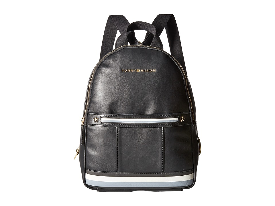 Tommy Hilfiger - Larissa Dome Backpack (Black) Backpack Bags