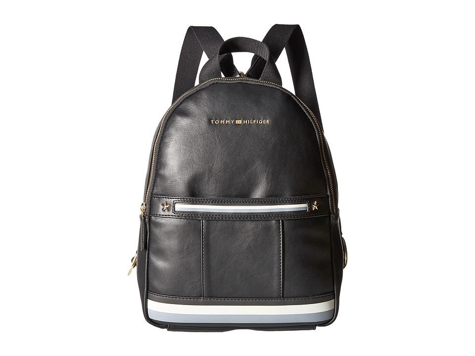 Tommy Hilfiger - Larissa Dome Backpack (Black) Backpack Bags