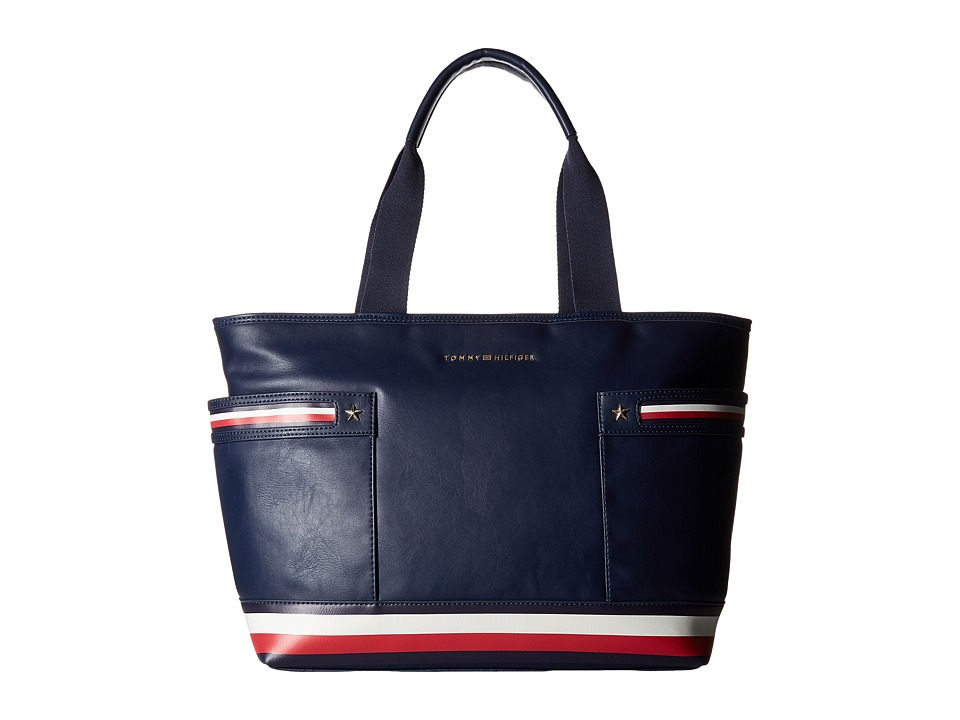 Tommy Hilfiger - Larissa Tote (Tommy Navy) Tote Handbags