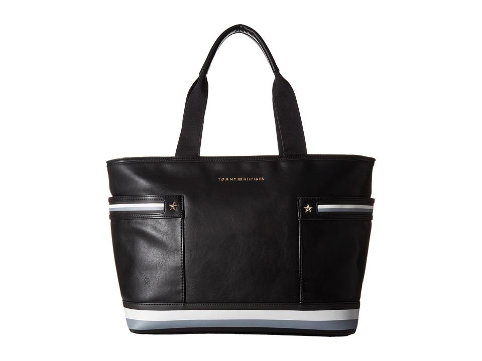 Tommy Hilfiger - Larissa Tote (Black) Tote Handbags