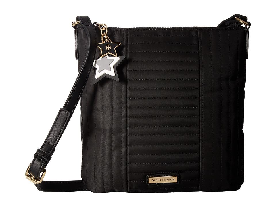 Tommy Hilfiger - Calandra North/South Crossbody (Black) Cross Body Handbags