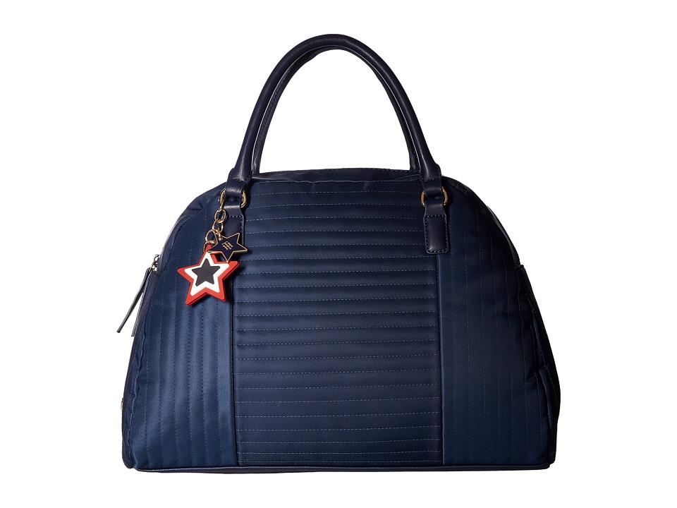 Tommy Hilfiger - Calandra Dome Satchel (Tommy Navy) Satchel Handbags