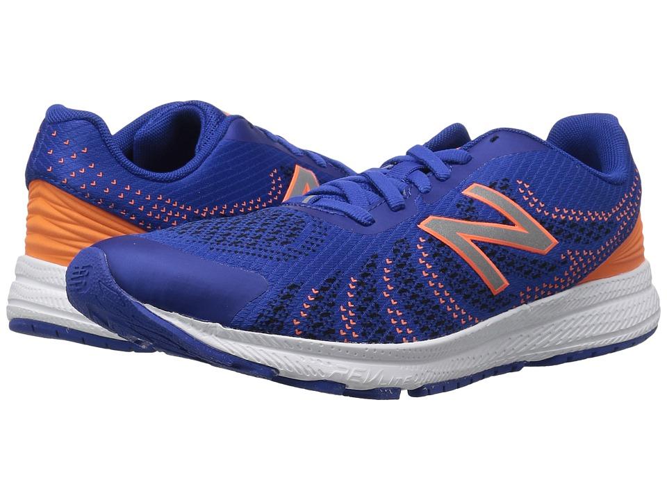 New Balance Kids FuelCore Rush v3 (Big Kid) (Blue/Orange) Boys Shoes