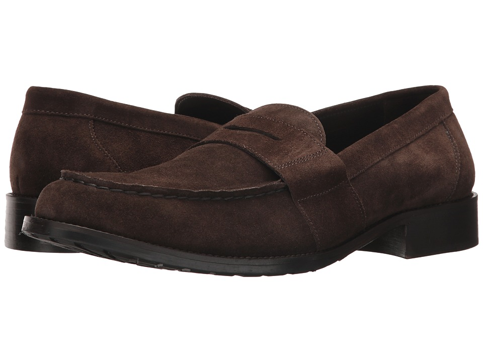 Bruno Magli Canelo (Dark Brown Suede) Men