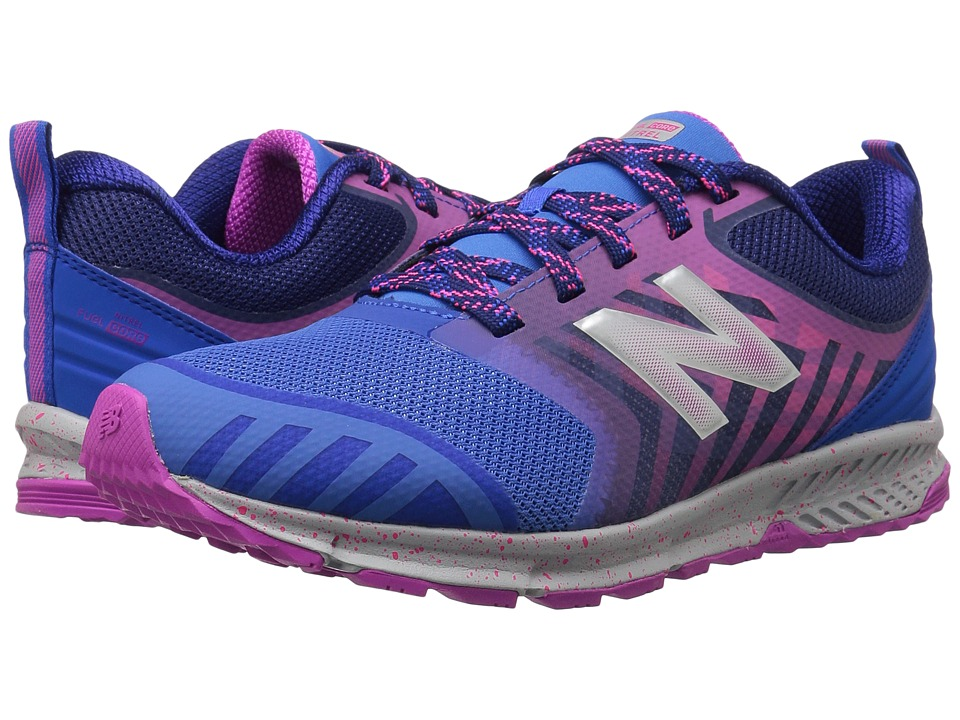 New Balance Kids FuelCore NITREL (Little Kid/Big Kid) (Blue/Pink) Girls Shoes
