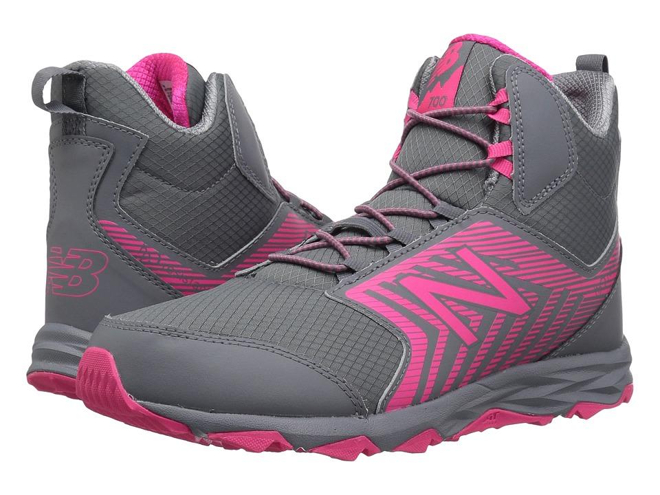 New Balance Kids KH700v1Y (Little Kid/Big Kid) (Grey/Pink) Girls Shoes
