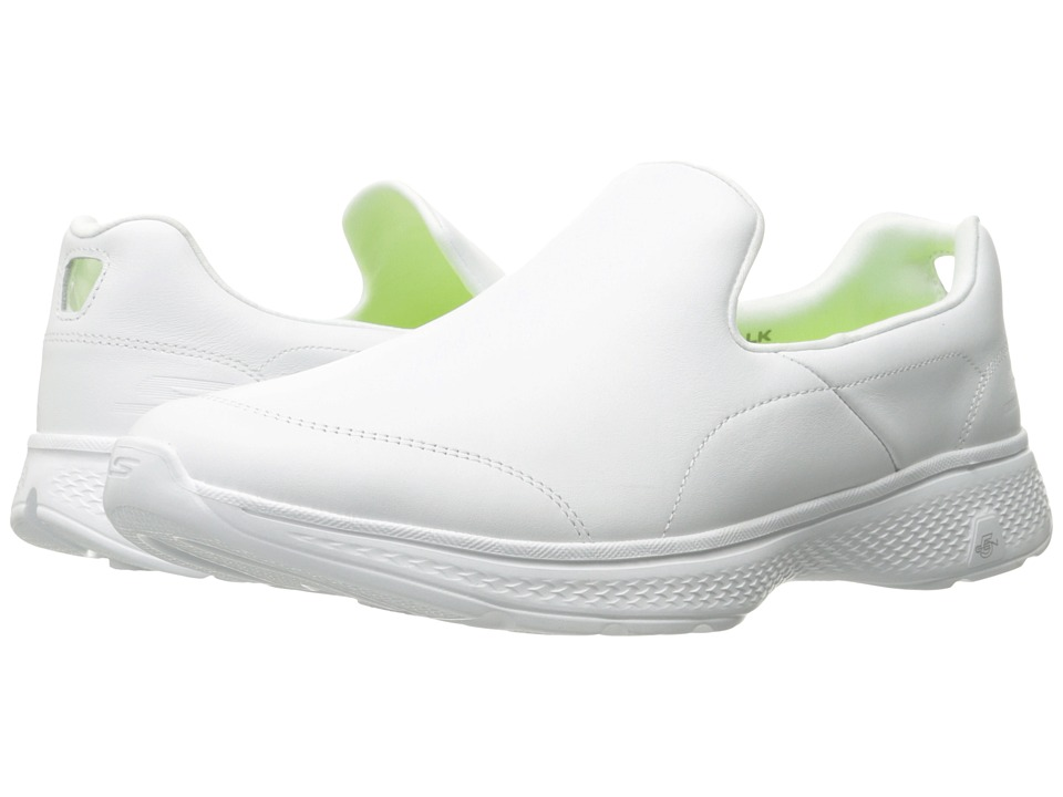 SKECHERS Performance - Go Walk 4 - Precise (White) Men's Shoes