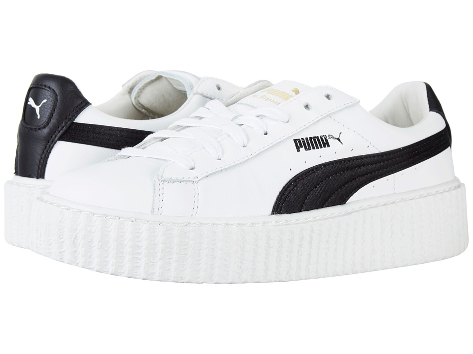 PUMA - Creeper (Puma White/Puma Black) Women's Shoes
