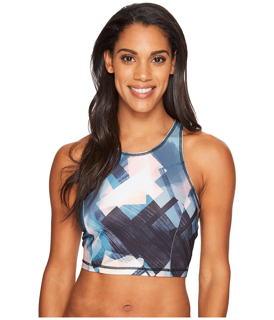 Lucy - Let It Be Bralette (Multi Faded Geo Print) Women's Bra