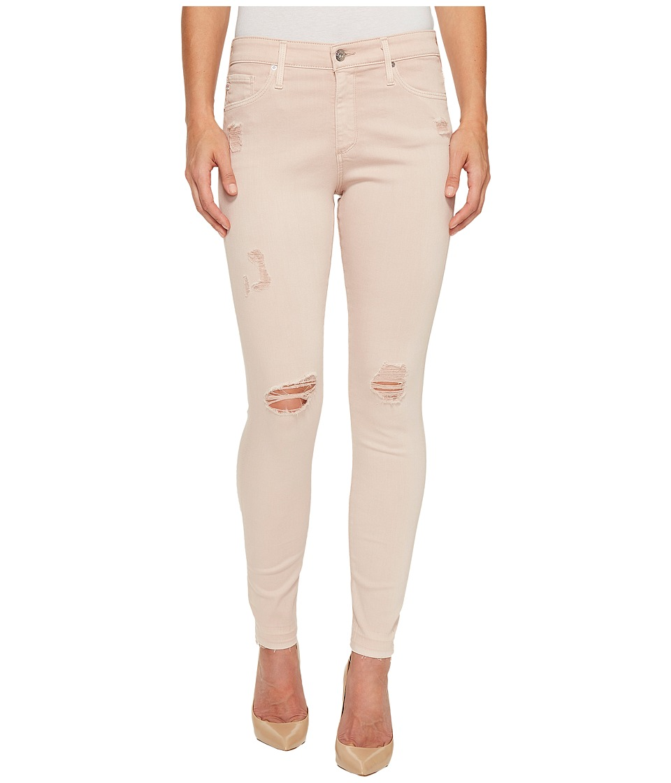 AG Adriano Goldschmied Farrah Skinny Ankle in Interstellar Worn/Rose Quartz (Interstellar Worn/Rose Quartz) Women