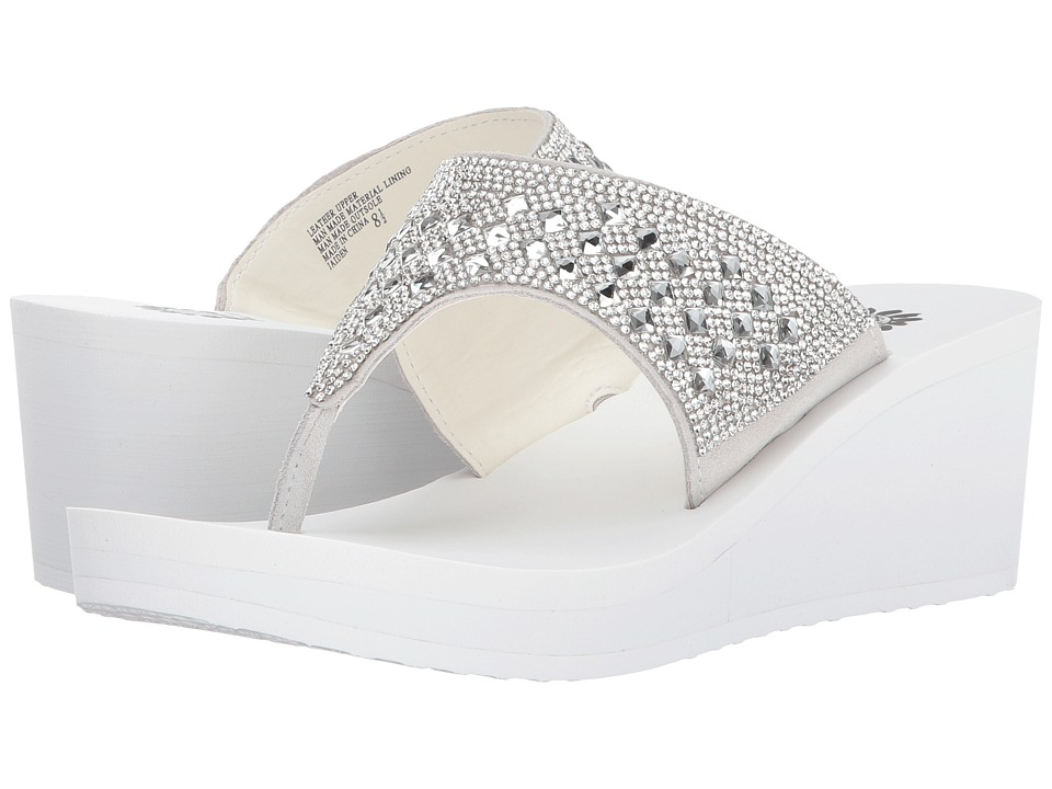 Yellow Box - Jaiden (White) Women's Sandals