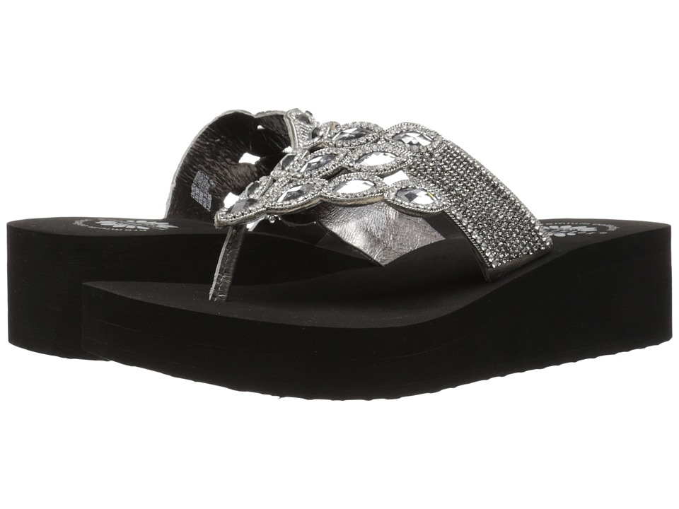 Yellow Box - P-Alluring (Pewter) Women's Shoes
