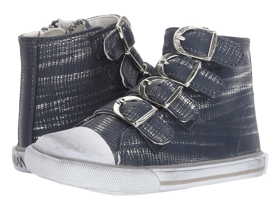 Image of Amiana - 15-A5172 (Toddler/Little Kid/Big Kid/Adult) (Navy Slash) Girls Shoes