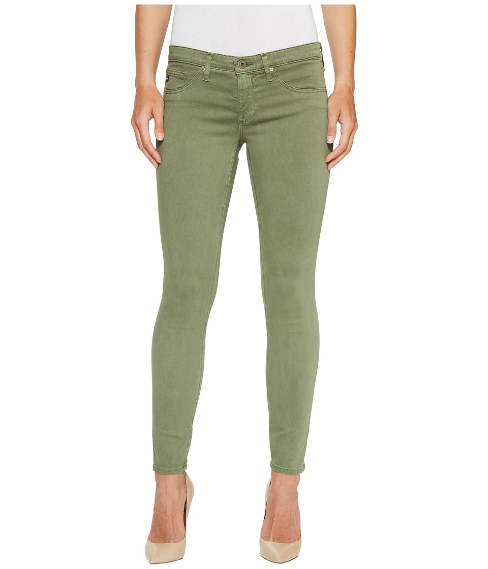 AG Adriano Goldschmied - Leggings Ankle in Sulfur Harvest Olive (Sulfur Harvest Olive) Women's Jeans