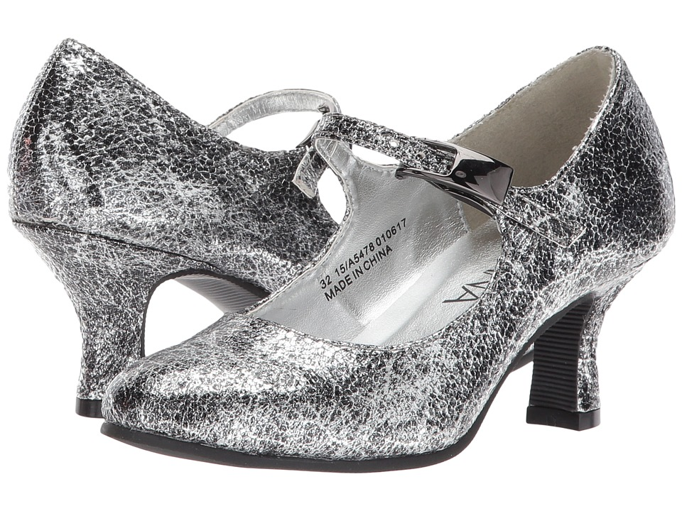 Amiana 15-A5478 (Little Kid/Big Kid/Adult) (Silver Pico Metallic) Girl