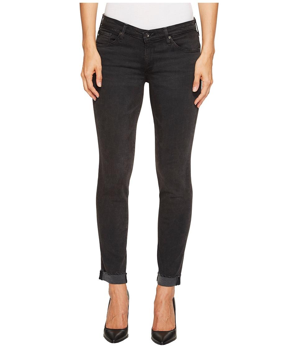 AG Adriano Goldschmied - Stilt Roll-Up in Rustic Black (Rustic Black) Women's Jeans
