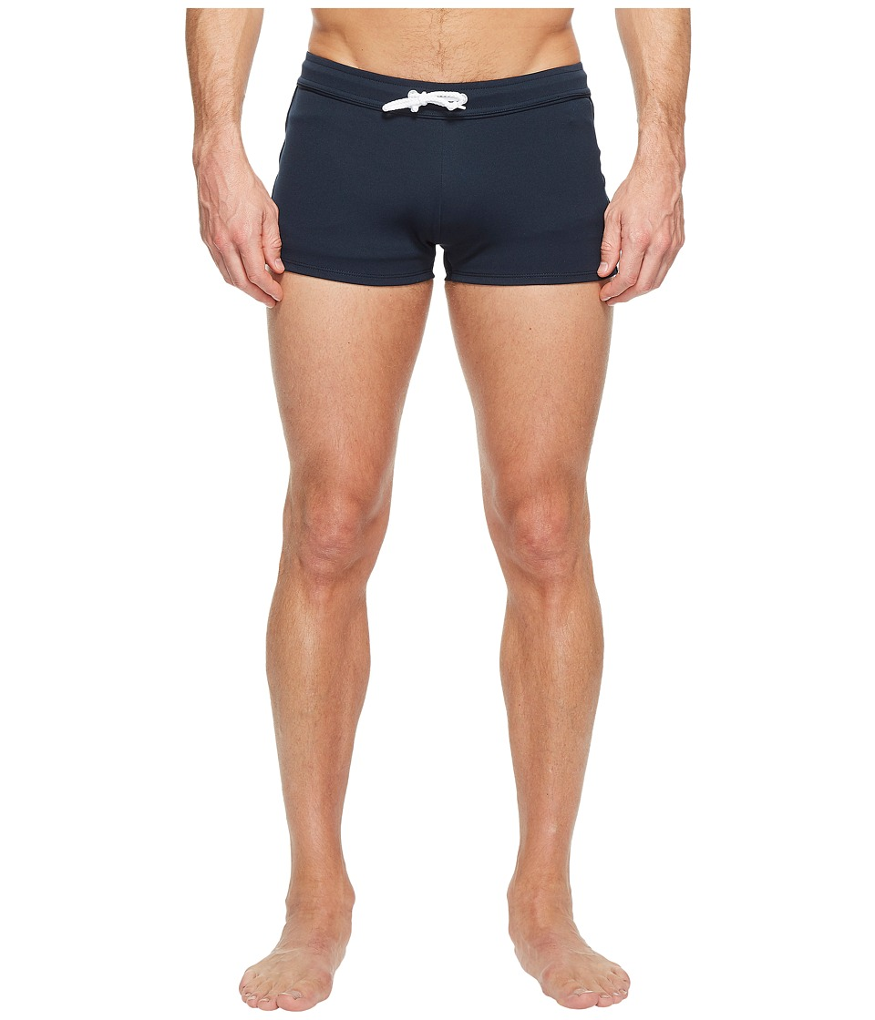 Original Penguin - Earl Swim Square Cut Brief Trunk (Dark Sapphire) Men's Swimwear