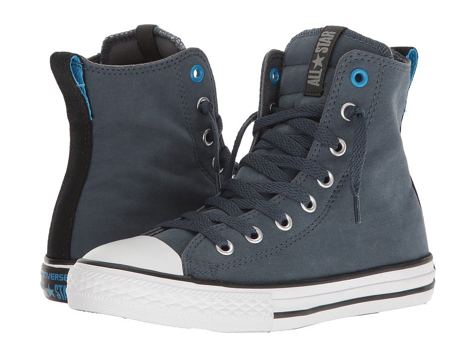 Converse Kids - Chuck Taylor All Star Slip It Hi (Little Kid/Big Kid) (Steel Can/Black/Thunder) Kids Shoes