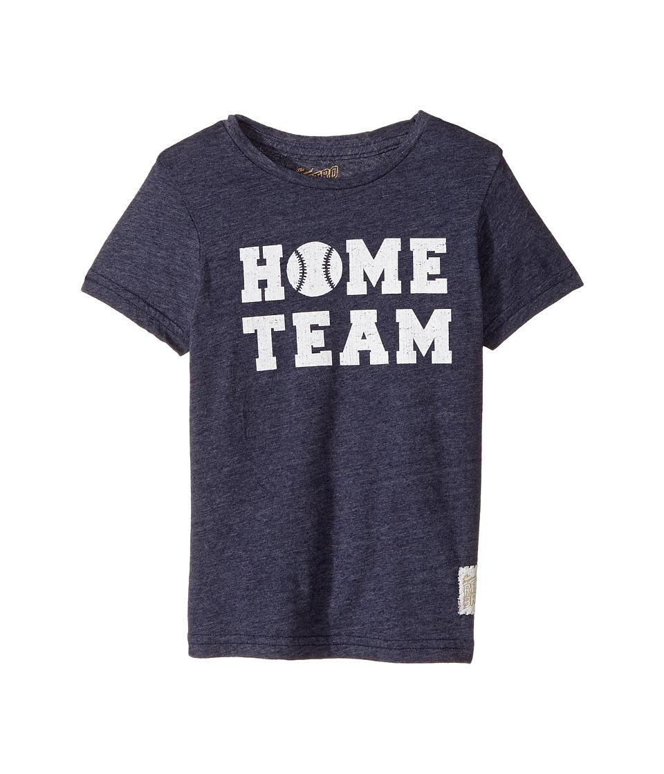 The Original Retro Brand Kids Home Team Short Sleeve Tri-Blend Tee (Little Kids/Big Kids) (Streaky Navy) Boy's T Shirt