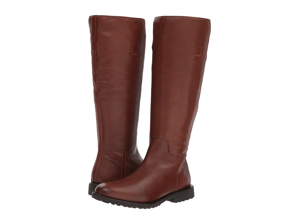 Johnston & Murphy Iliana (Dark Brown Waterproof Leather) Women