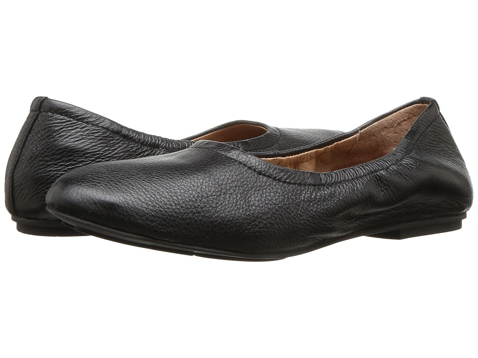 Gentle Souls - Portia (Black Leather) Women's Shoes
