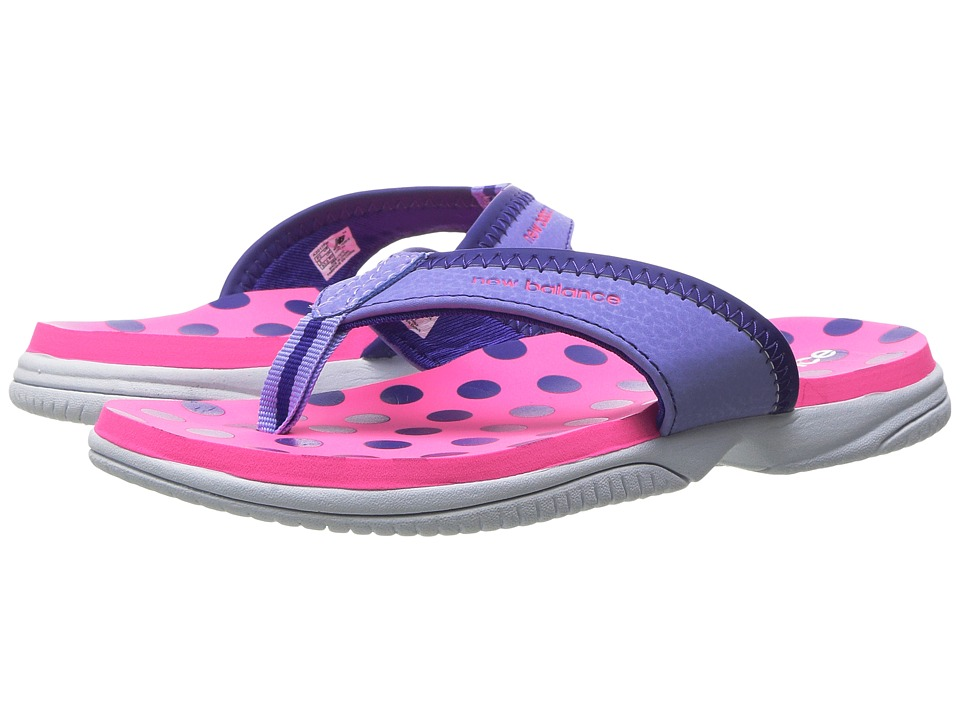 New Balance Kids - JoJo Thong (Little Kid/Big Kid) (Pink/Purple) Girls Shoes