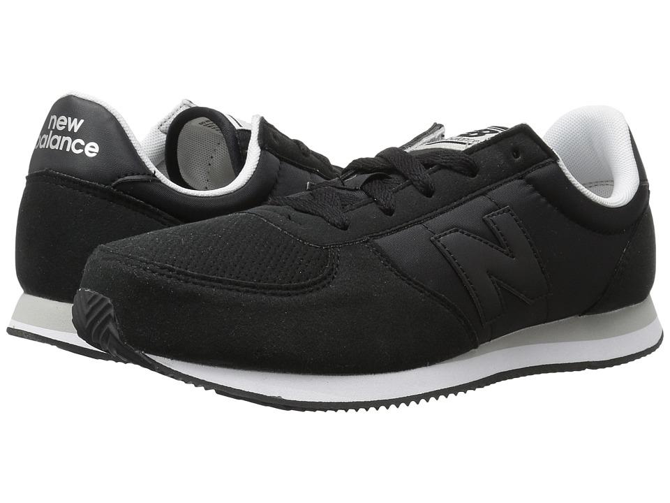 New Balance Kids KL220v1Y (Little Kid/Big Kid) (Black/Black) Boys Shoes