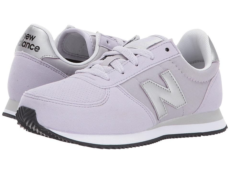 New Balance Kids KL220v1Y (Little Kid/Big Kid) (Purple/Silver) Girls Shoes
