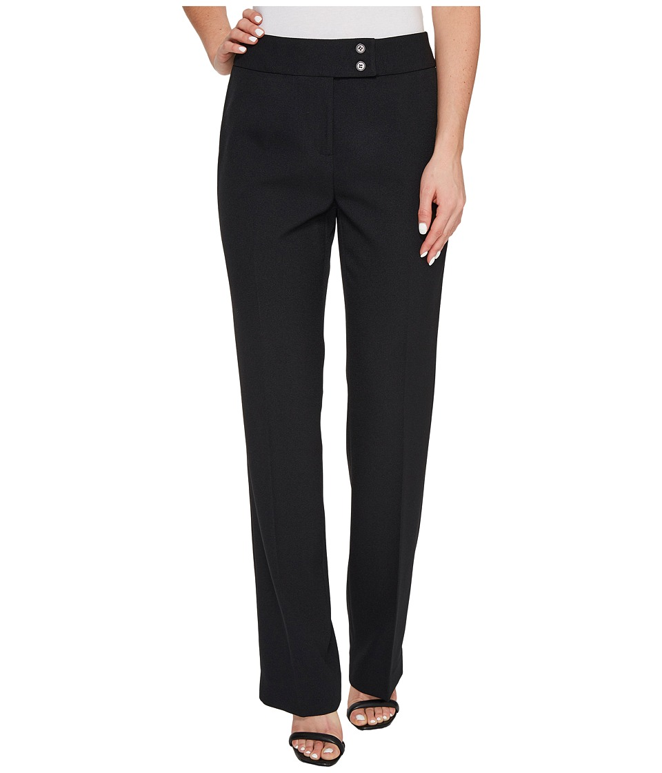 Tahari by ASL - Crepe Pants (Black) Women's Casual Pants
