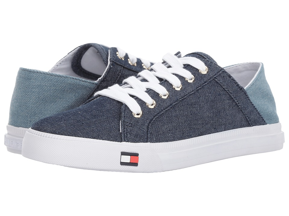 Tommy Hilfiger - Alovie (Indigo/Light Blue) Women's Shoes