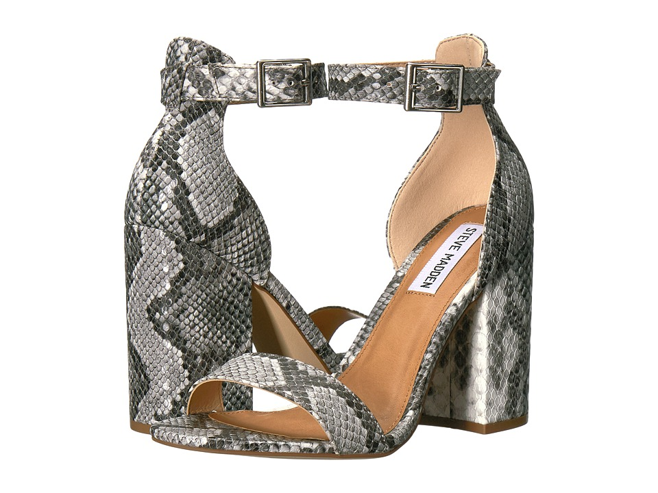 Steve Madden - Izzy (Natural Snake) High Heels